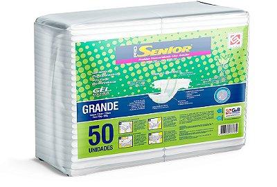 Fralda Geriátrica Pro Senior Super G 50 Unidades