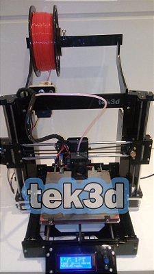 Impressora 3D Graber I3 TEK3D em acrilico 6mm com extruder Bowden - ATENÇÃO!  PRODUTO COM FAIXA DE ENTREGA RESTRITA! CONSULTE!