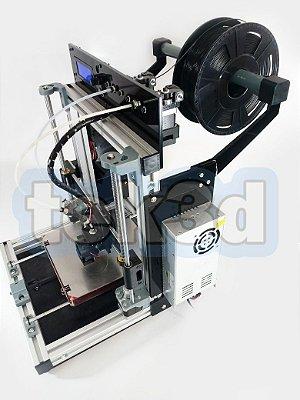 Impressora 3D Prusa I3 Alumínio Tek3d Full