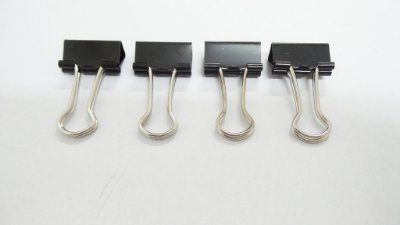 Bulldog Clips - Kit com 4 unidades