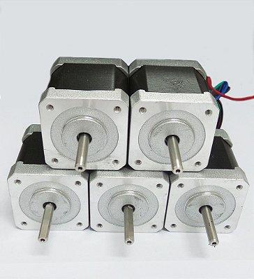 Motor Nema 17  KTC-42HS48-1684-08AF - kit com 5 unidades