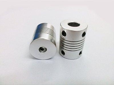 Acoplador Eixo Motor de Passo Nema17 5x5mm ou 5X8mm