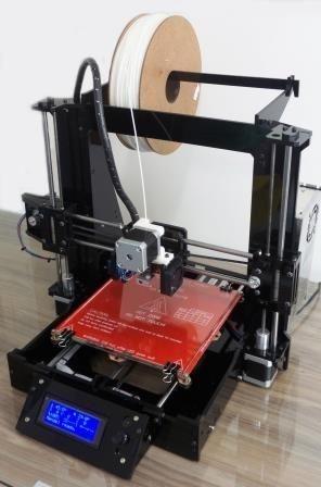 Impressora 3D Graber I3 TEK3D em acrilico 6mm - ATENÇÃO!  PRODUTO COM FAIXA DE ENTREGA RESTRITA! CONSULTE!