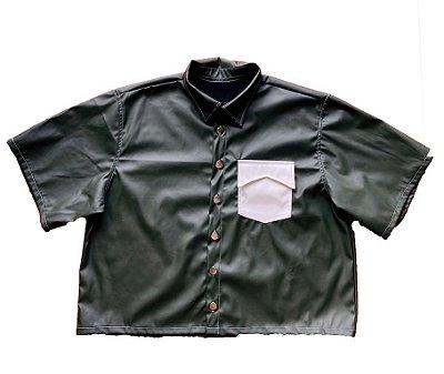 Camisa Courino Musgo