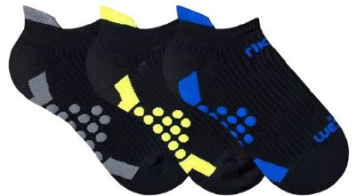 Meia Rikam Performance - Fio emana - Invisível (sapatilha) - cores variadas (unidade)