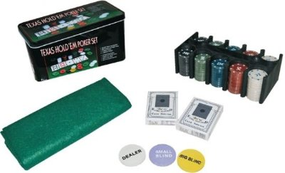 Jogo de Poker - 200 Peças
