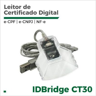 Leitor de Smart Card para certificado digital IDBridge CT30 Gemalto