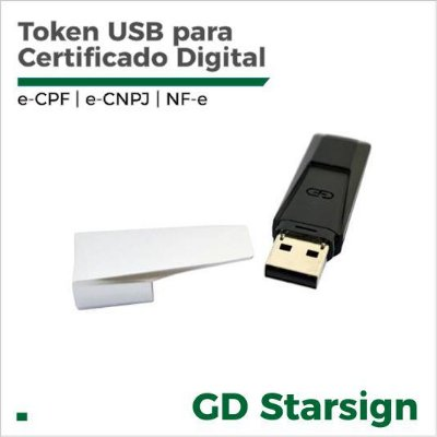 Token GD Crypto StarSign para Certificado Digital
