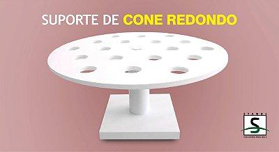 Suporte para Cone Redondo