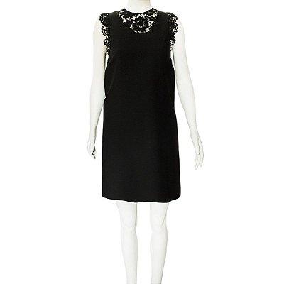 VALENTINO | Vestido Valentino Lã Preto