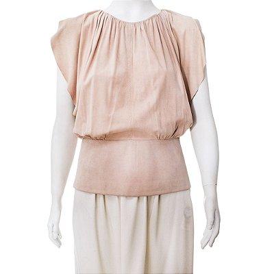 BALENCIAGA | Blusa Balenciaga Chamoix Rose