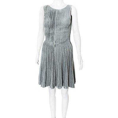 CHANEL | Vestido Chanel Cashmere Cinza