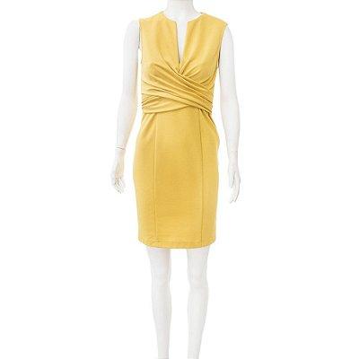 SEARLE | Vestido Searle Viscose Amarelo