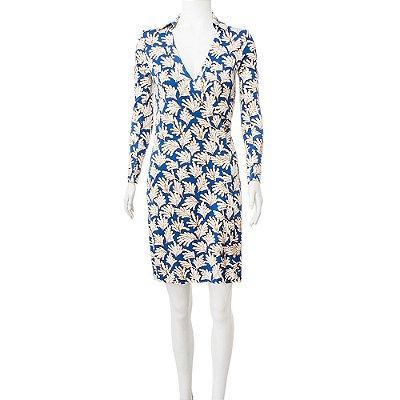 DIANE VON FURSTENBERG | Vestido Diane von Furstenberg Wrap Algodao Estampado