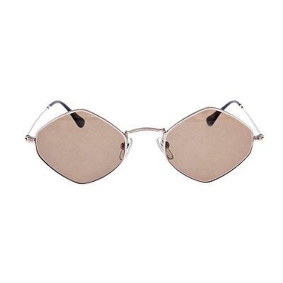 NUE   Óculos Nue Metal Dourado