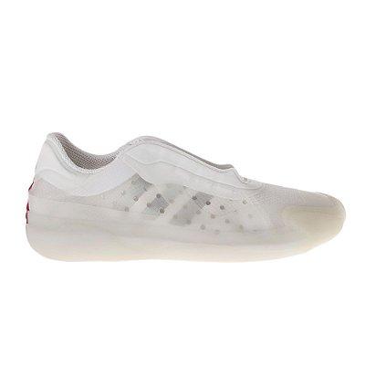 PRADA | Tênis Prada/Adidas Nylon e Borracha Branco