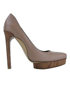 LANVIN | Sapato Plataforma Lanvin Couro Nude