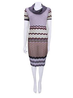 MISSONI | Vestido Missoni Lã Colorido