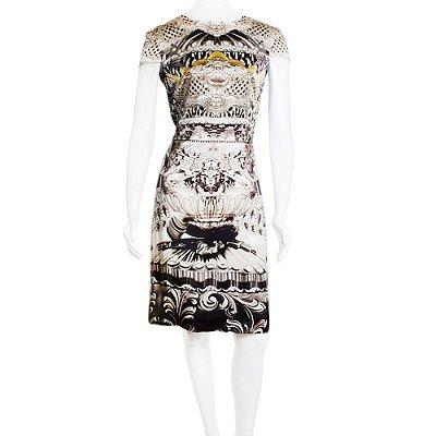 MARY KATRANTZOU | Vestido Mary Katrantzou Seda Estampado