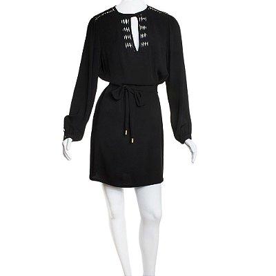 DIANE VON FURSTENBERG | Vestido Diane von Furstenberg Seda Preto