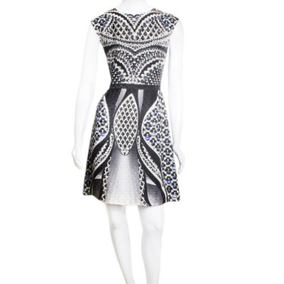 PETER PILOTTO | Vestido Peter Pilotto Seda Estampado Preto