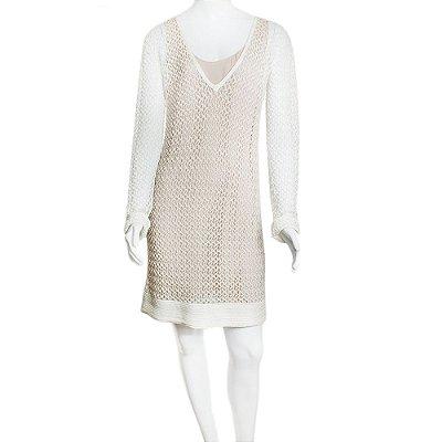 MISSONI | Vestido Missoni Viscose Branco