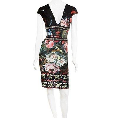 ROBERTO CAVALLI | Vestido Roberto Cavalli Viscose Estampado Floral