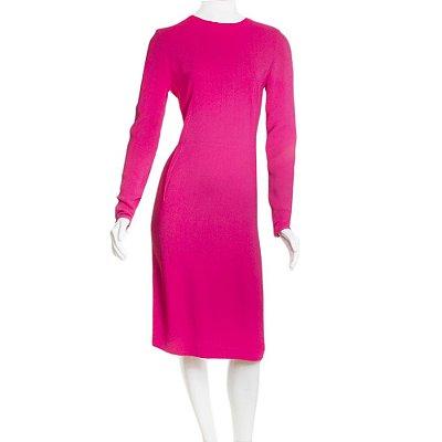 STELLA MCCARTNEY | Vestido Stella McCartney Viscose Rosa