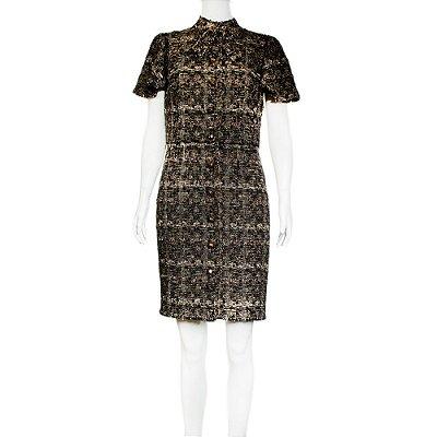 DOLCE & GABBANA | Vestido Dolce & Gabbana La Marrom
