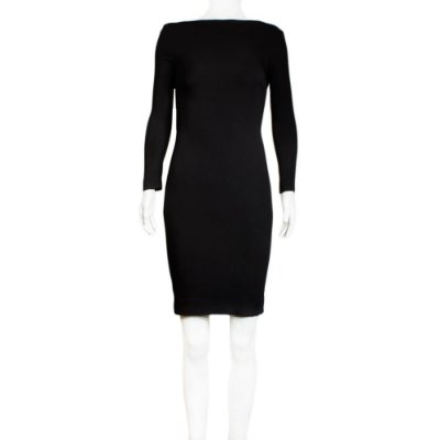 TOM FORD | Vestido Tom Ford Seda Preto