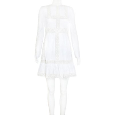 VALENTINO | Vestido Valentino Algodao Branco