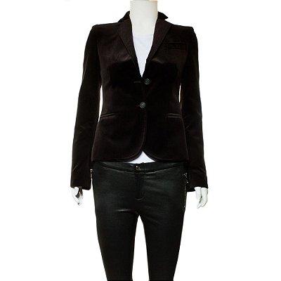 DOLCE & GABBANA   Blazer Dolce & Gabbana Veludo Vinho