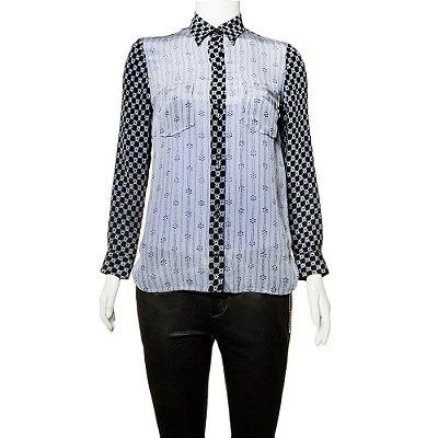 ISABEL MARANT | Camisa Isabel Marant Seda Azul