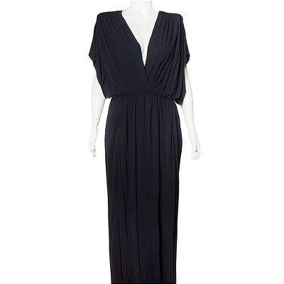 VIONNET | Vestido Vionnet Viscose Azul