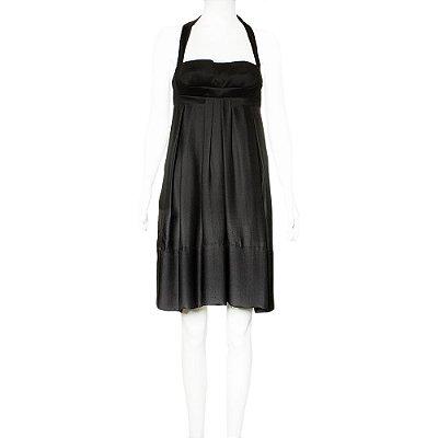 VERSACE | Vestido Versace Seda Preto