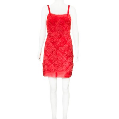 REINALDO LOURENÇO |  Vestido Reinaldo Lourenço Seda Vermelho