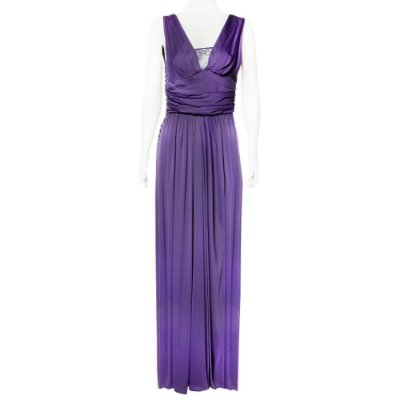 JOHN GALLIANO | Vestido John Galliano Viscose Roxo