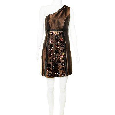 PRADA | Vestido Prada La Marrom