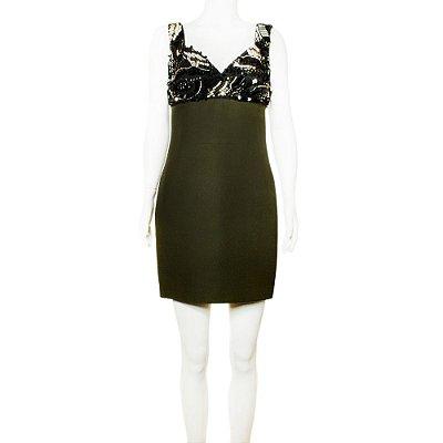 PRADA | Vestido Prada Seda Verde