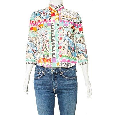 PRADA | Camisa Prada Algodao Estampado