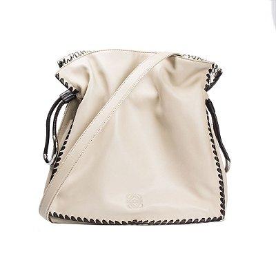 LOEWE | Bolsa Loewe Crossbody Couro Off White