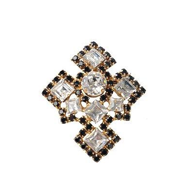 DIOR | Broche Dior Cruz Cristal