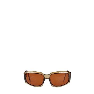 GUCCI | Óculos Gucci Acrilico Marrom