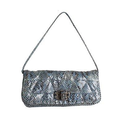 MIU MIU | Bolsa Miu Miu Reptil Azul
