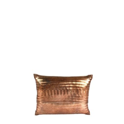 Clutch Marroquina Metal Cobre