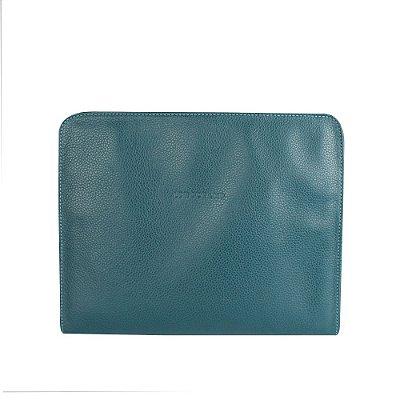 LONGCHAMP | Estojo Para Ipad Longchamp de Couro Azul