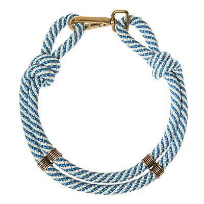 SM | Gargantilha SM Corda Azul e Branca