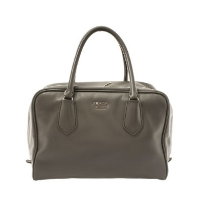 PRADA|Bolsa Tote Prada Double Bag Cinza