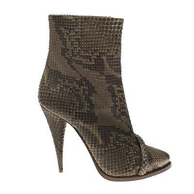 GIVENCHY | Bota Givenchy Couro Python Verde