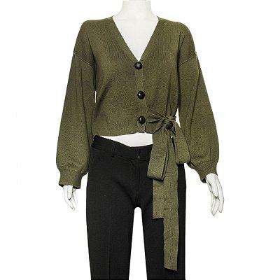 APIECE APART | Cardigan Apiece Apart Algodão e Cashmere Verde